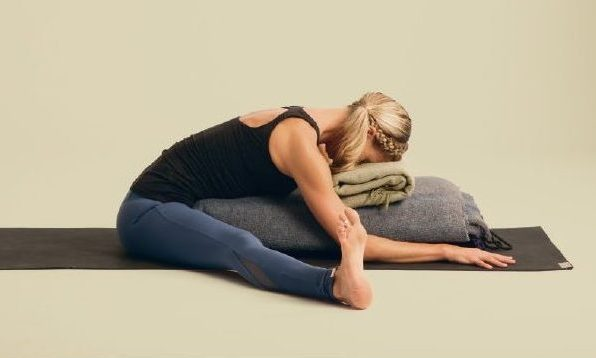 seated-wide legged forward bend pose