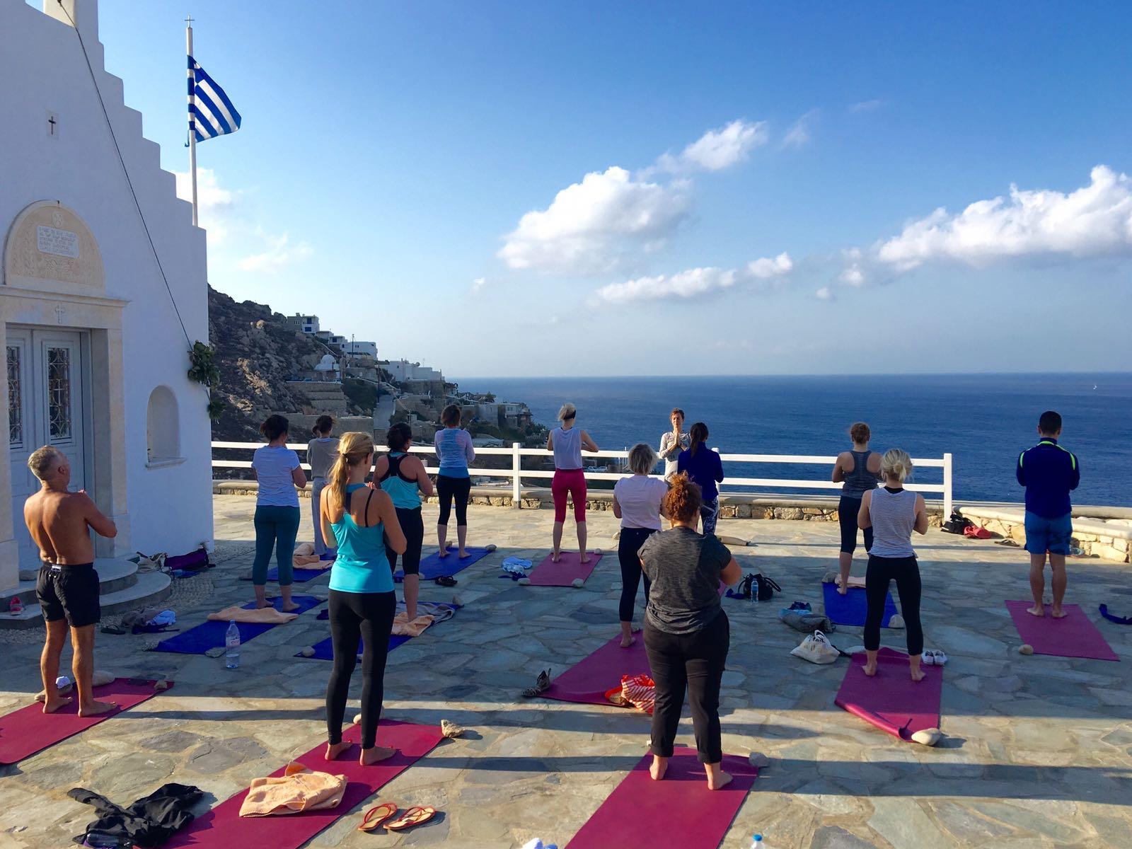 mykonos greece yoga retreat