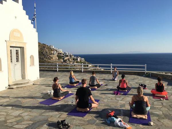 restorative yin yoga class with yoga escapes