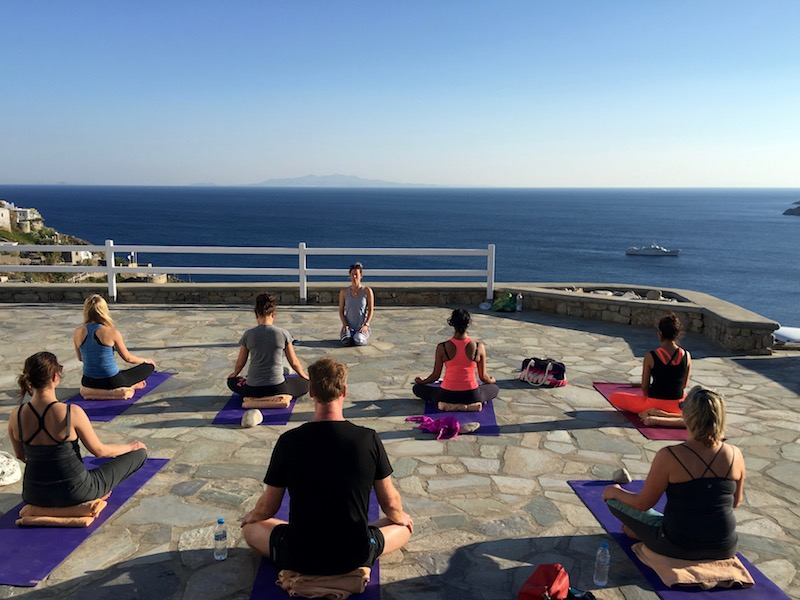 meditation on a luxury yoga retreat with yoga escapes