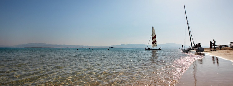 soma bay egypt beach and sailing