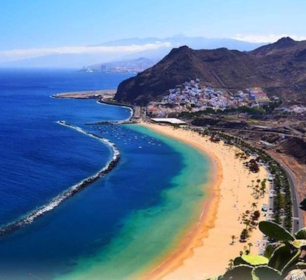 Tenerife Beach Canary Islands Yoga