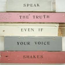 Speak The Truth, quote