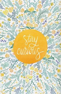 Stay Curious quote