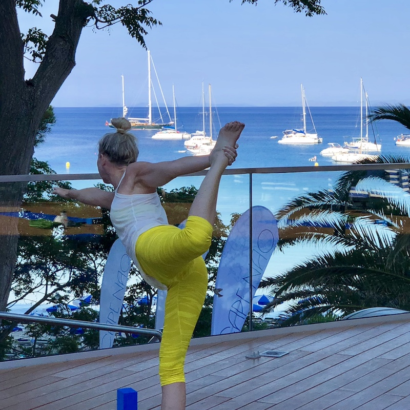yoga by the sea in spain with yoga escapes