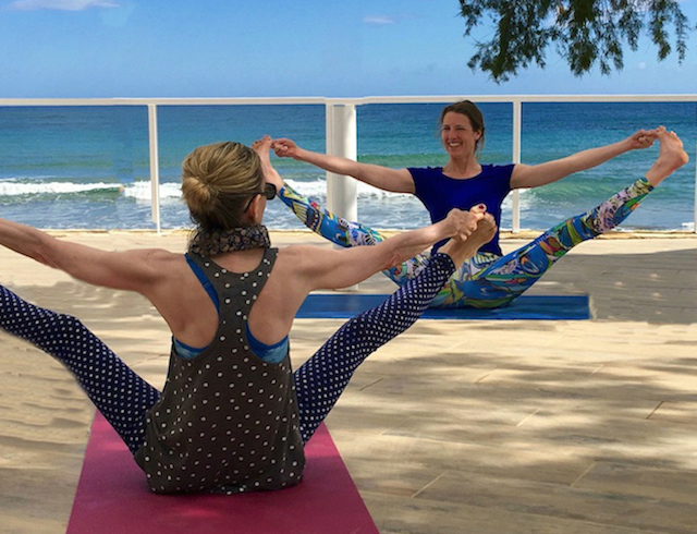 yoga in chania on a yoga retreat in crete