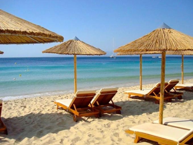 Beautiful Greek beaches.
