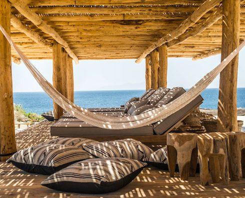 scorpios mykonos beach restaurant