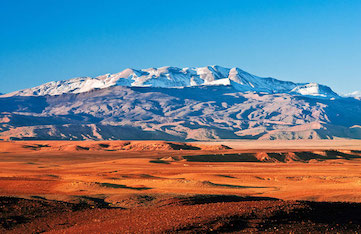 visiting the impressive atlas mountains in morocco