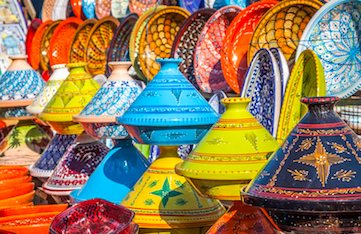 shopping the souks and outdoor markets in marrakesh on a yoga retreat