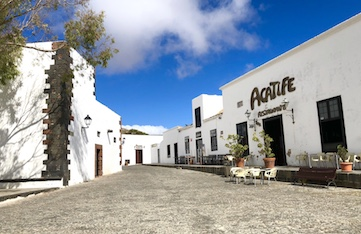 Day trip to Teguise in Lanzarote, Canary Islands, on a yoga holiday.