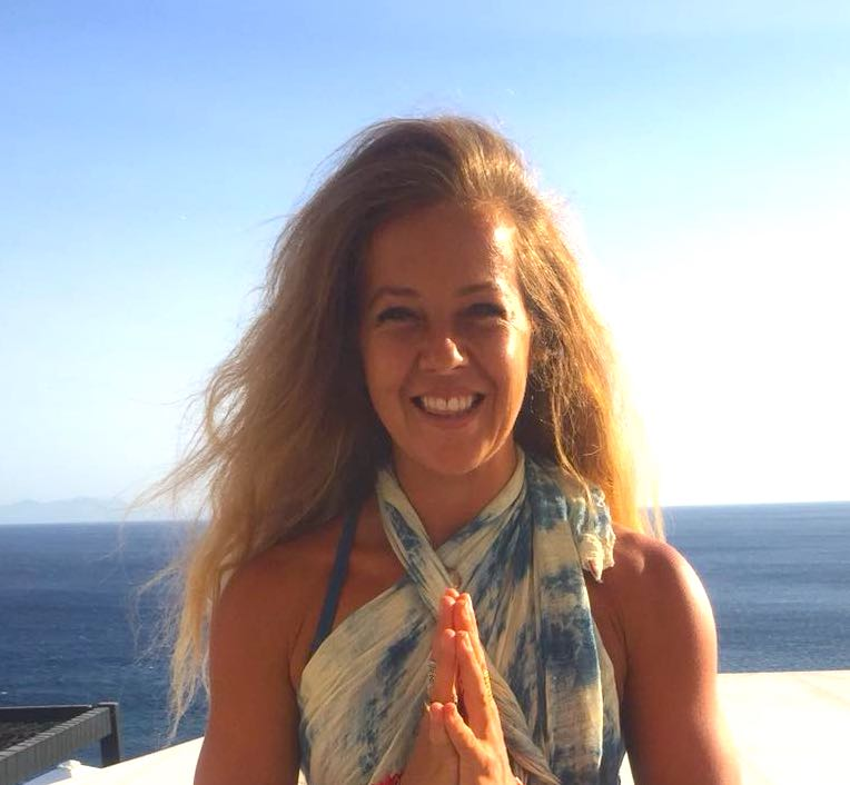 Liz Joubert yoga teacher with Yoga Escapes