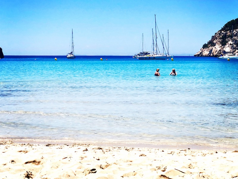 cala galdana beach yoga retreat menorca spain