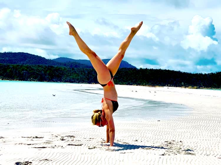 Alice Trow yoga teacher with Yoga Escapes